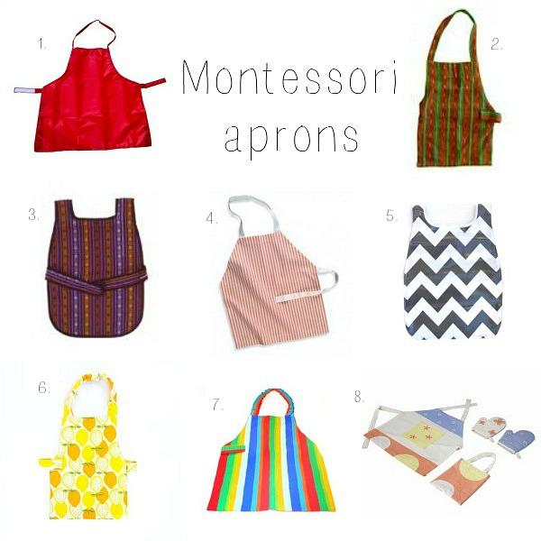 Montessori Aprons