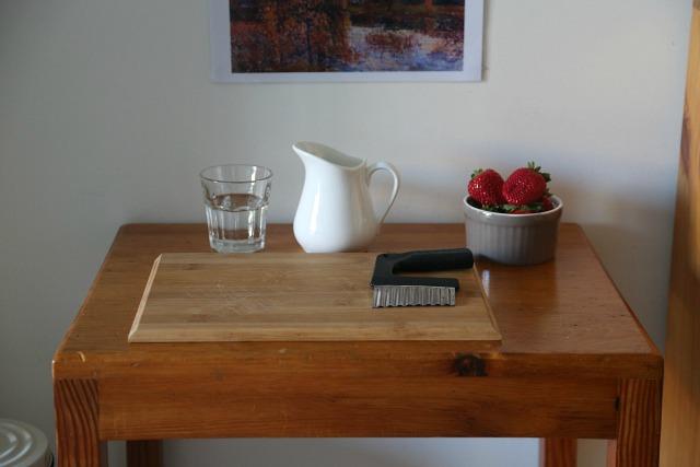 Joshua's snack table