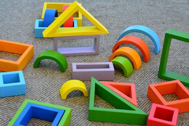 Colourful, Rainbow Blocks