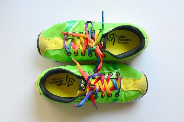 Caspar's Little Athletics Shoes