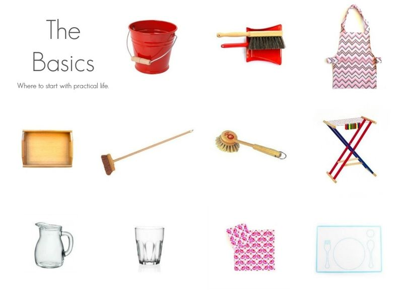 The Basics How we Montessori Shop
