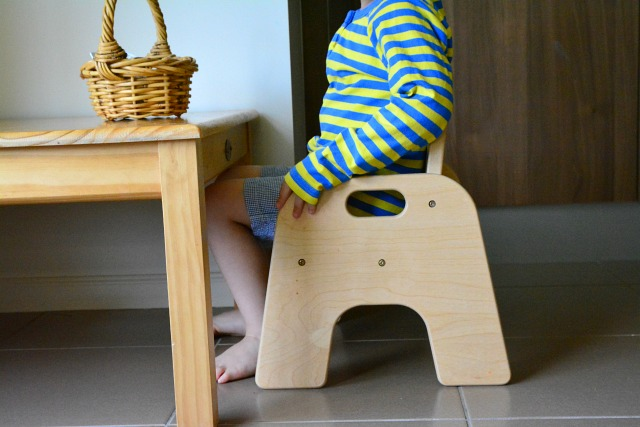 Weaning table 2 years