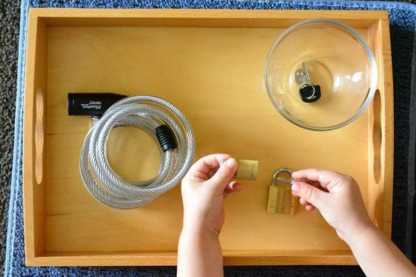 Five Minute Montessori Lock And Key How We Montessori