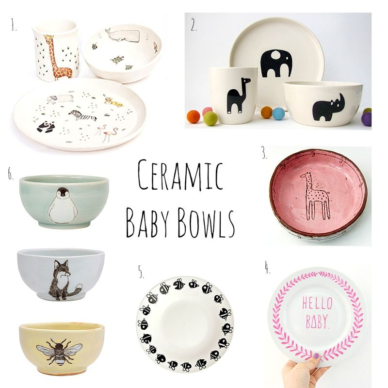 Creamic baby bowls