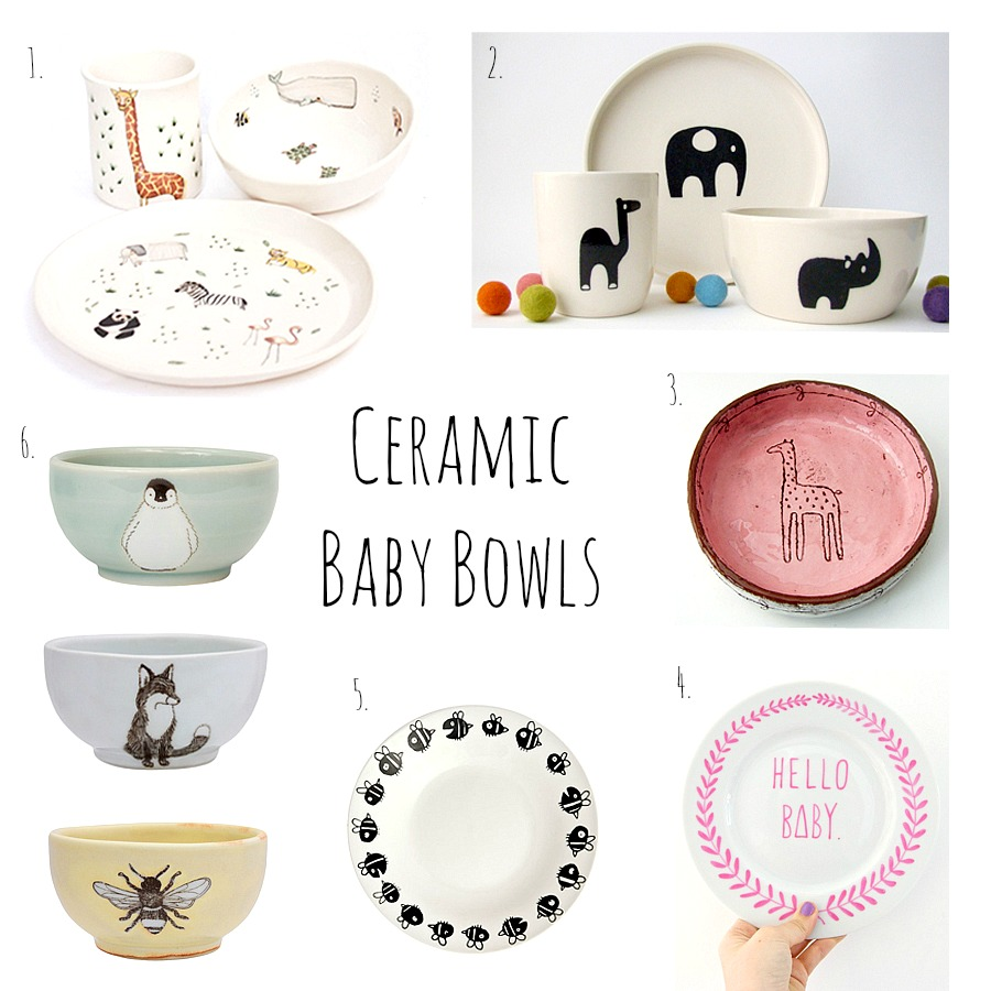 Creamic baby bowls. 1. Children\u0027s Tableware ...  sc 1 st  How We Montessori & I Love Ceramic Baby Bowls - how we montessori