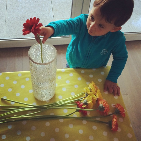 Blog de Maman - Flower Arranging