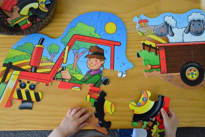 Otis tractor puzzle Oct 2014