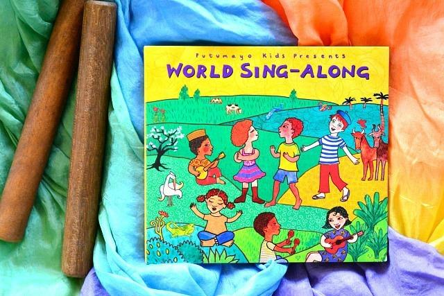 What we are listening to November 2014 Putumayo Kids World Sing Along at How we Montessori