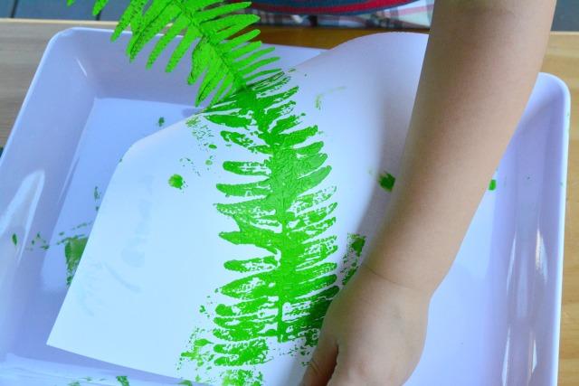 Otis leaf printing fern? #