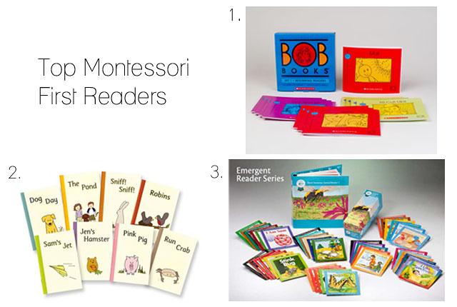 Top Three Montessori First Readers - how we montessori