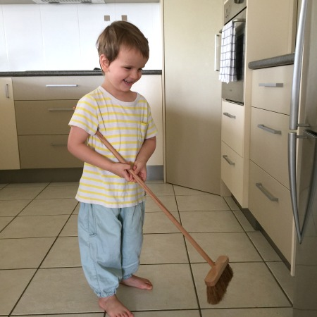 This is Montessori - Otis sweeping