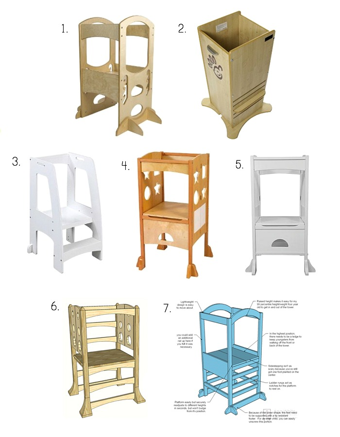 Beau Montessori Learning Towers, Fun Pods, Kitchen Stands And DIY
