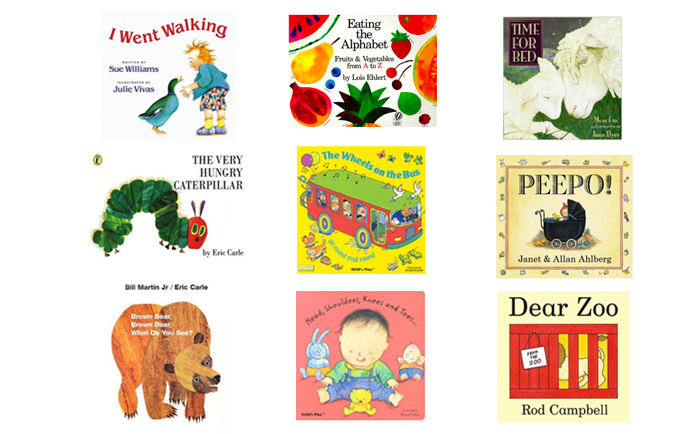 Books for Montessori Babies - Traditional, Popular