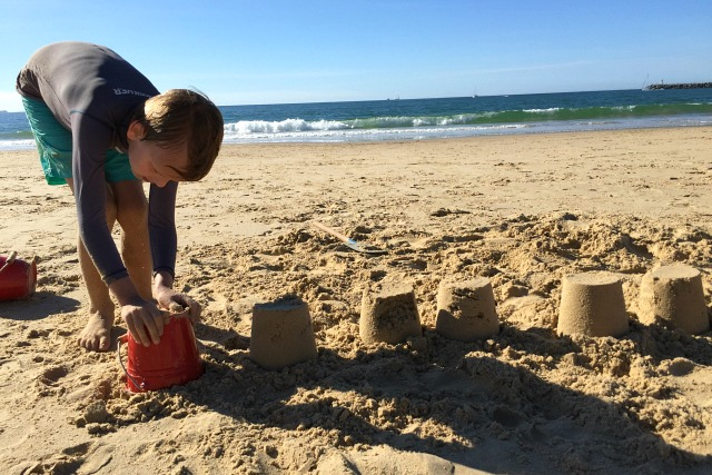 Sandcastles Beach May 2015
