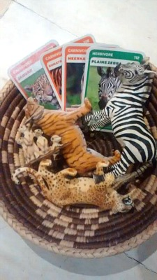 Montessori and Me Language Cards with Schleich Animals