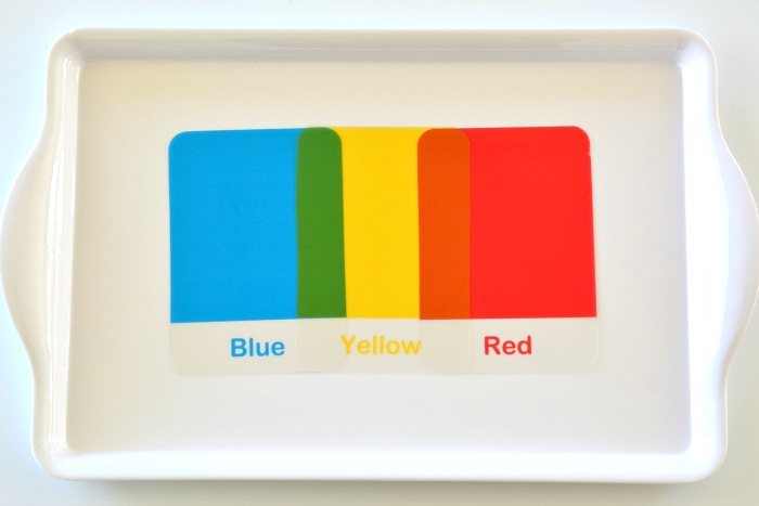 Mixing Primary Colours at How we Montessori #2