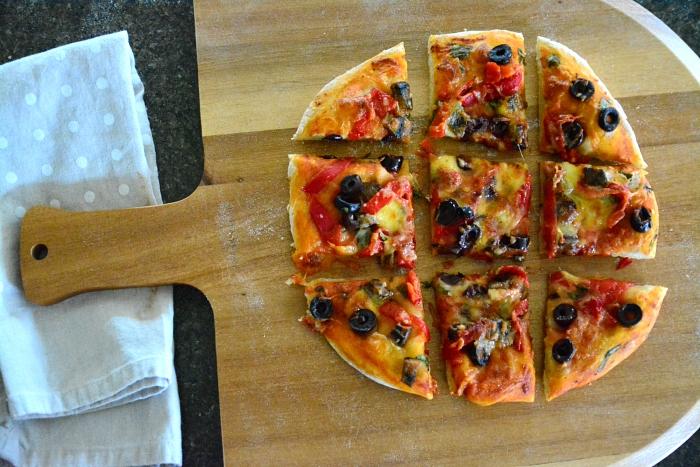 Pizza at How we Montessori