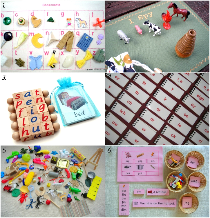 Early Montessori  Language Materials on Etsy