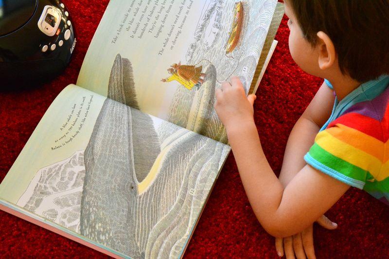 Big Blue Whale at How we Montessori