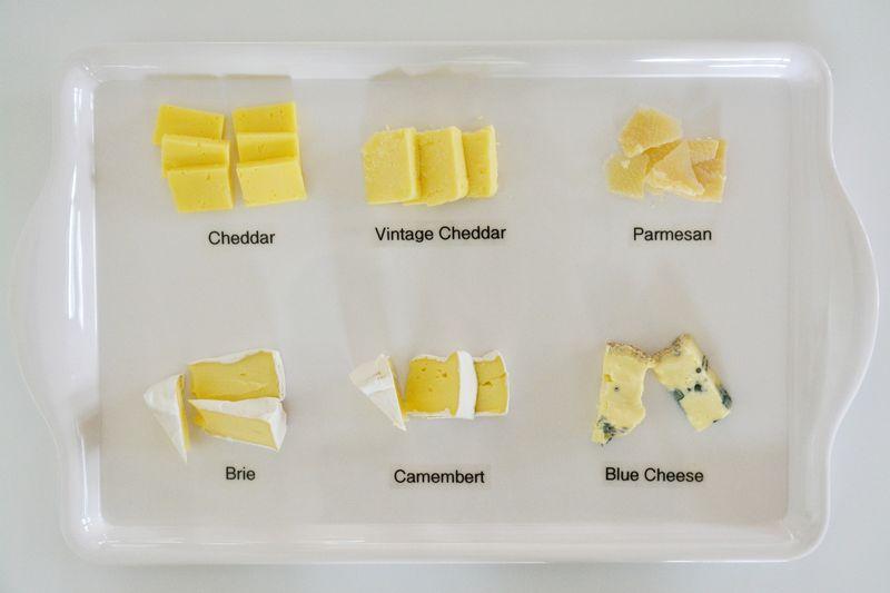 Cheese varieties at How we Montessori September 2015