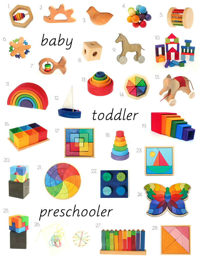 Why We Love Grimms Wooden Toys How We Montessori