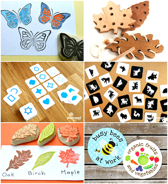 Beautiful Montessori Materials on Etsy November 2015