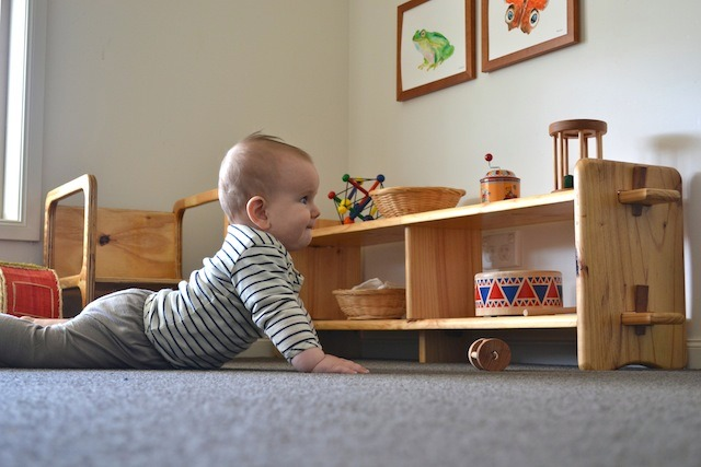 How we Montessori Low Shelves