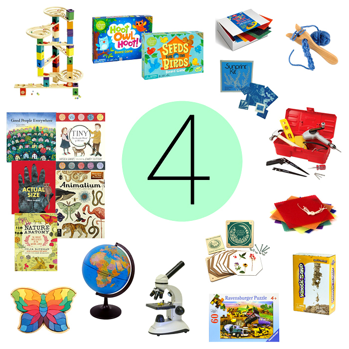 Montessori Gifts For A Four Year Old