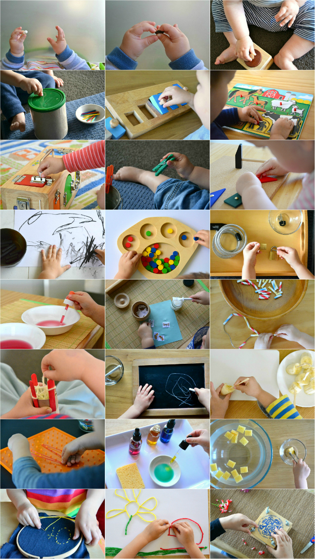 Pincer activity toddler to preschooler at How we Montessori