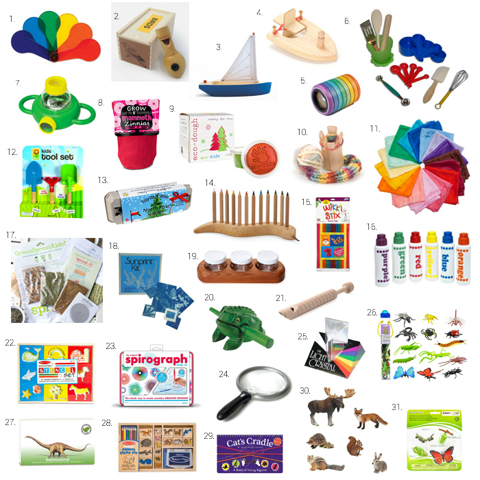 Montessori Stocking Stuffers at How we Montessori