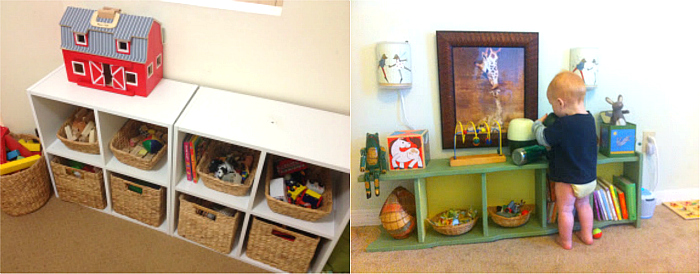 Montessori Toddler Shelves to Love #3 at How we Montessori