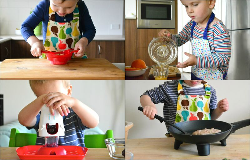 Toddlers in the kitchen part  5