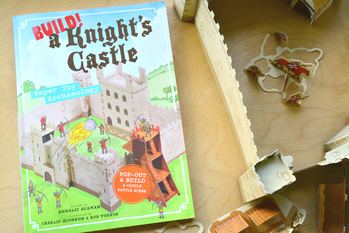 Build! A Knight's Castle at How we Montessori