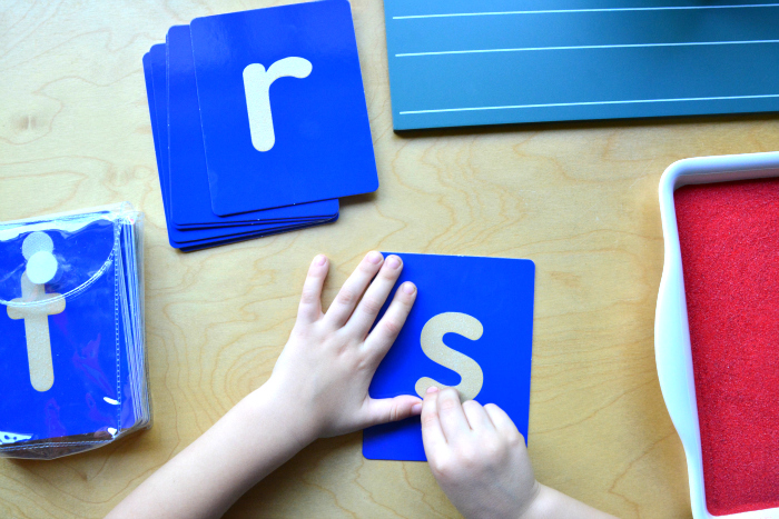 montessori sandpaper letters alternatives tactile letters at how we montessori