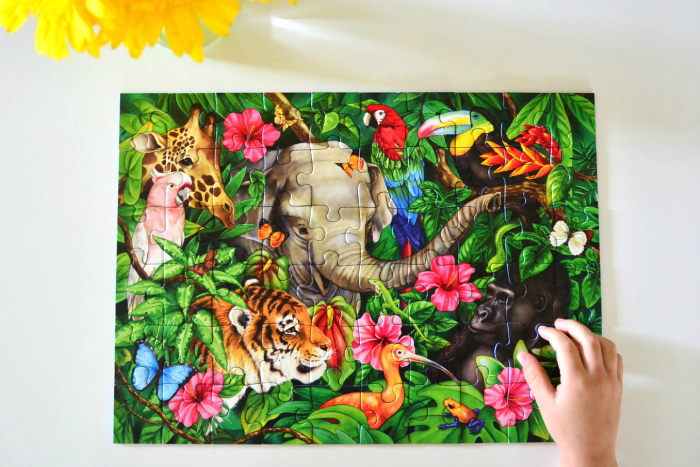 Ravensburger Tropical Friends Puzzle at How we Montessori Child.com.au