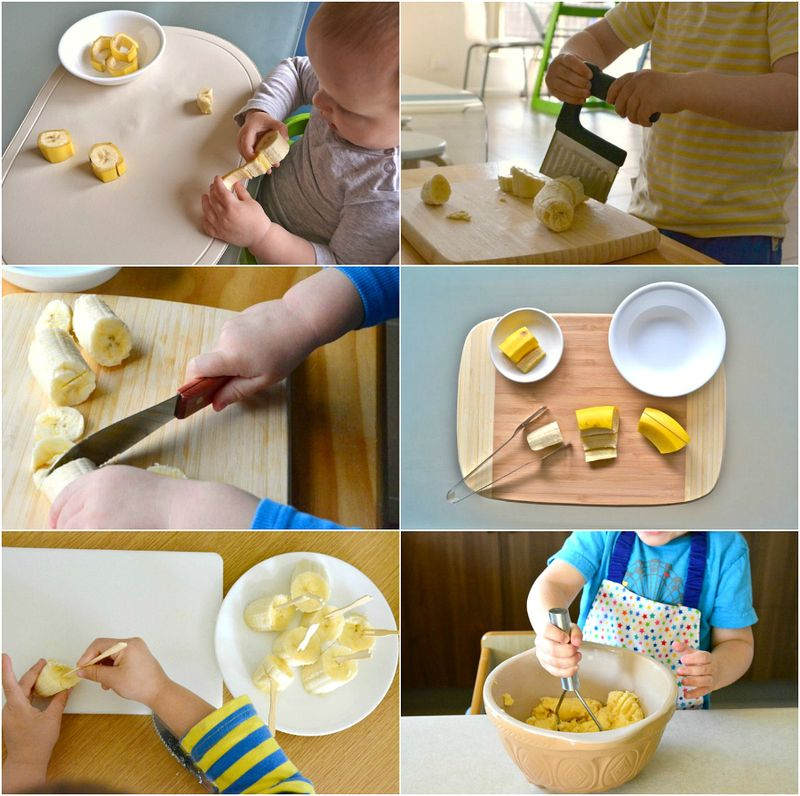 Montessori Banana Practical Life