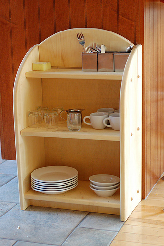 The Free Child Kitchen Shelves