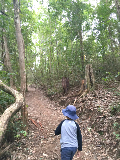 Otis bushwalking
