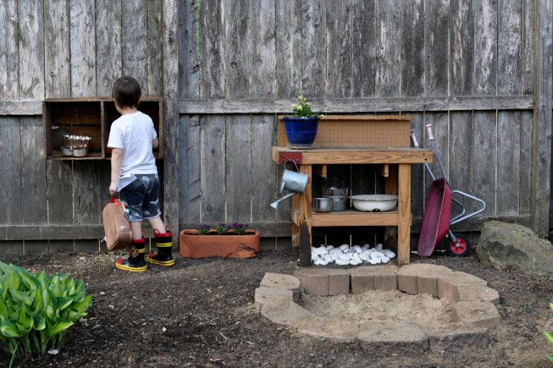 Crumb Bums Outdoor playspace