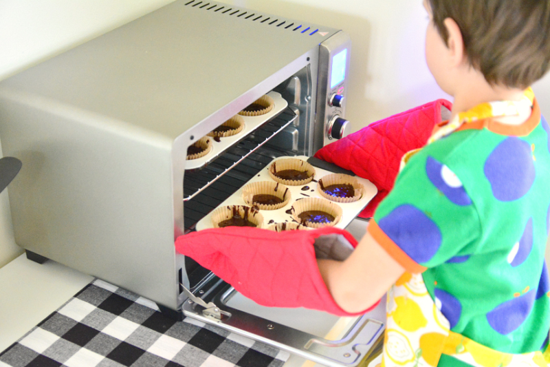 How we Montessori - Independent Baking with a Toaster Oven