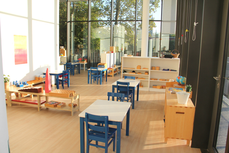 Montessori School of Geneva - cycle one classroom