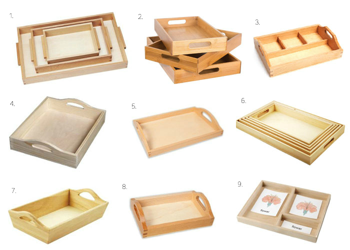 Where can I get those Montessori trays? At How we Montessori.