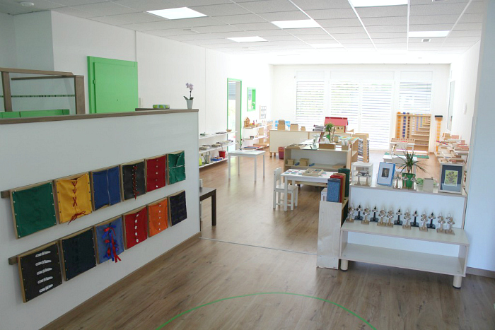 Little Birds Montessori Preschool Geneva Classroom