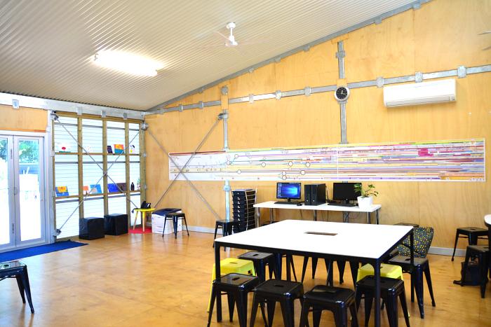 MIC at How we Montessori - Adolescence Community - rooms