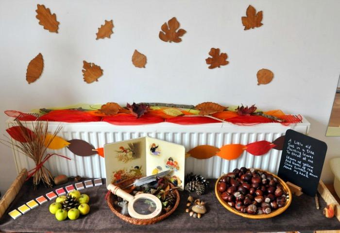 Nature Table Autumn Grow Grow Grow!