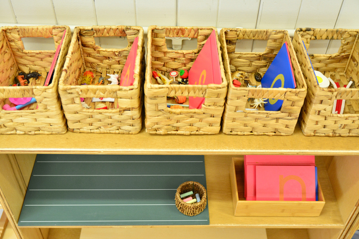 I Am Montessori Brisbane Parent Child Class, Language Area at How we Montessori