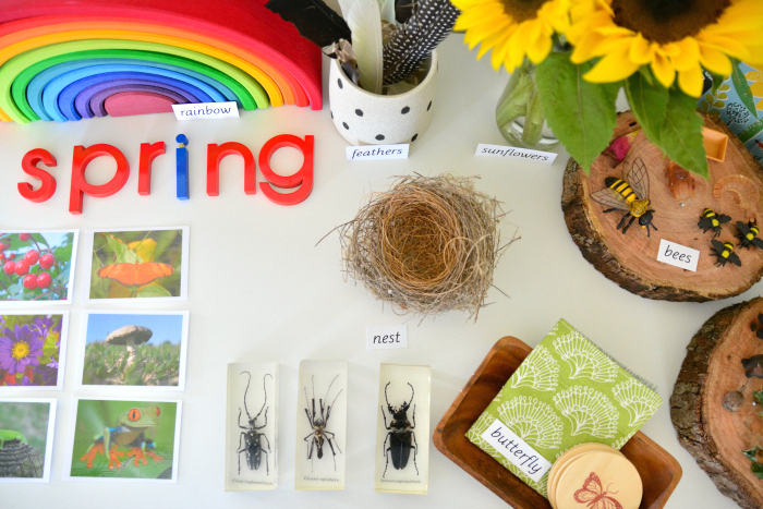 Spring Nature Table at How we Montessori #6