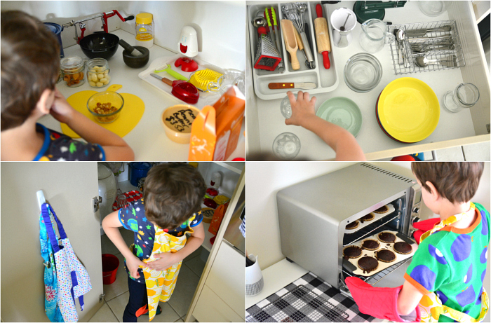 How we Montessori - Kitchen Areas at Five