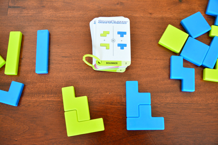 Shape-O-Metry at How we Montessori, Game to Try