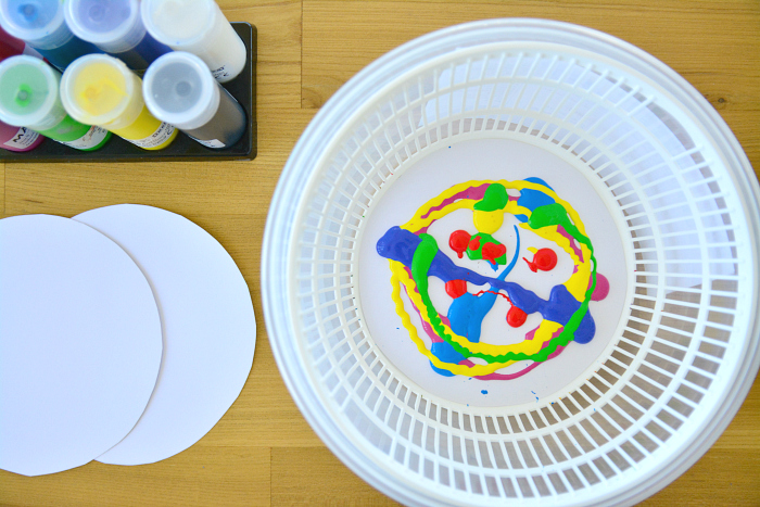 Salad spinner art #2